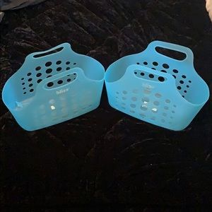 Set of 2 Bliss Shower Caddys